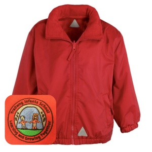 Trallwng Infants Red Mistral Jacket
