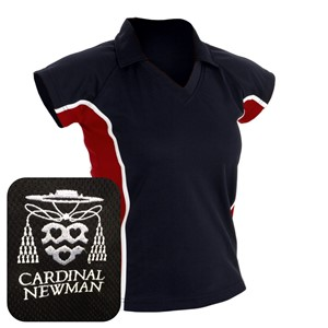 Cardinal Newman Girls Cut Sports Polo