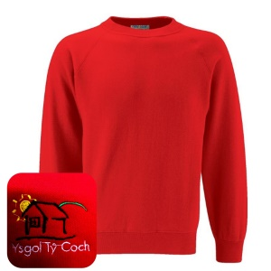 Ty Coch *POST 16* Red Sweatshirt