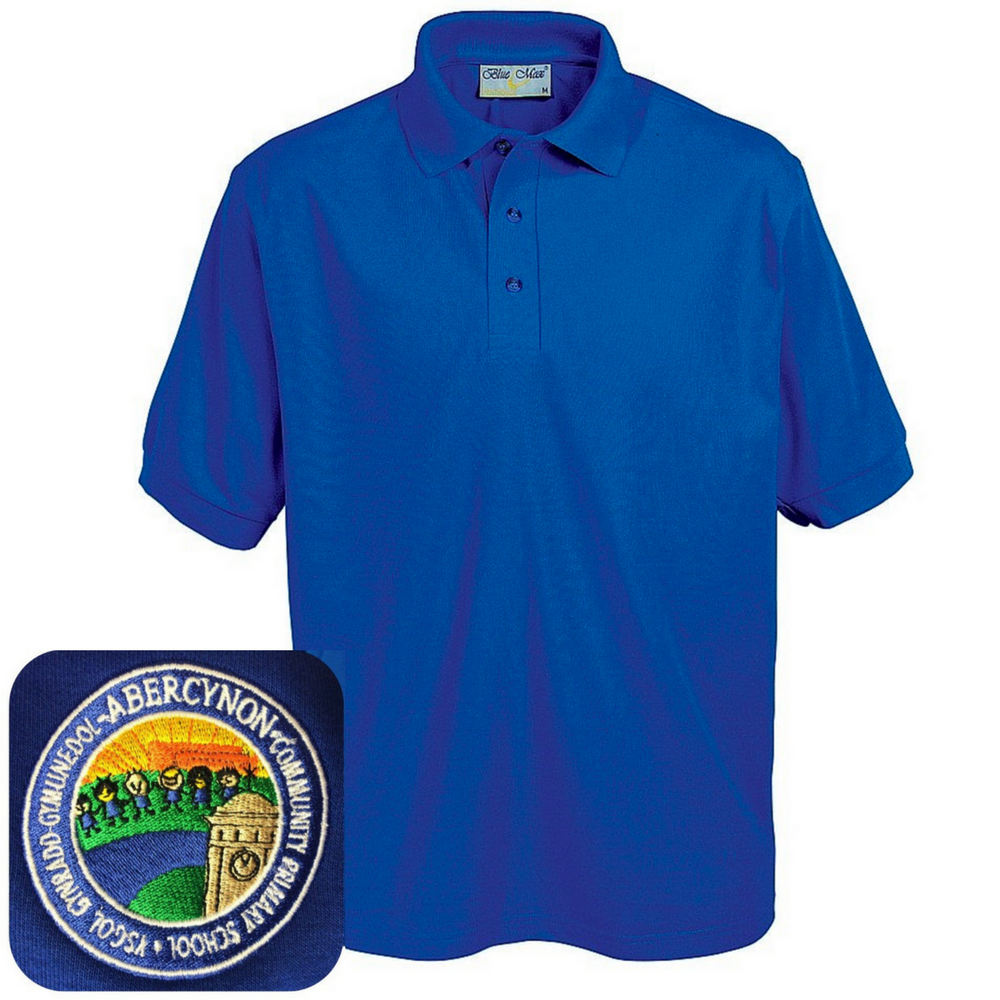 Abercynon Community Primary Royal Blue Polo