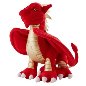WRU Scorch Dragon Mascot Plush