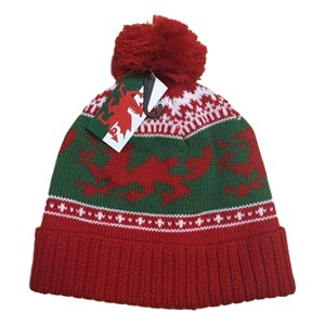 Welsh Red Dragon Bobble Hat