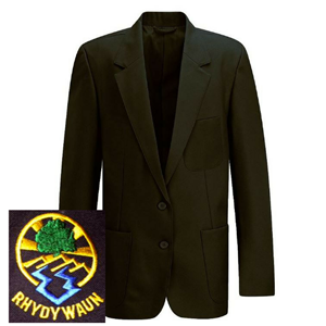 Rhydywaun 6th Form Girls Black Blazer