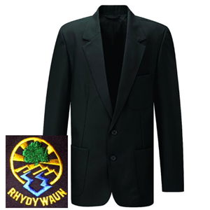 Rhydywaun 6th Form Boys Black Blazer