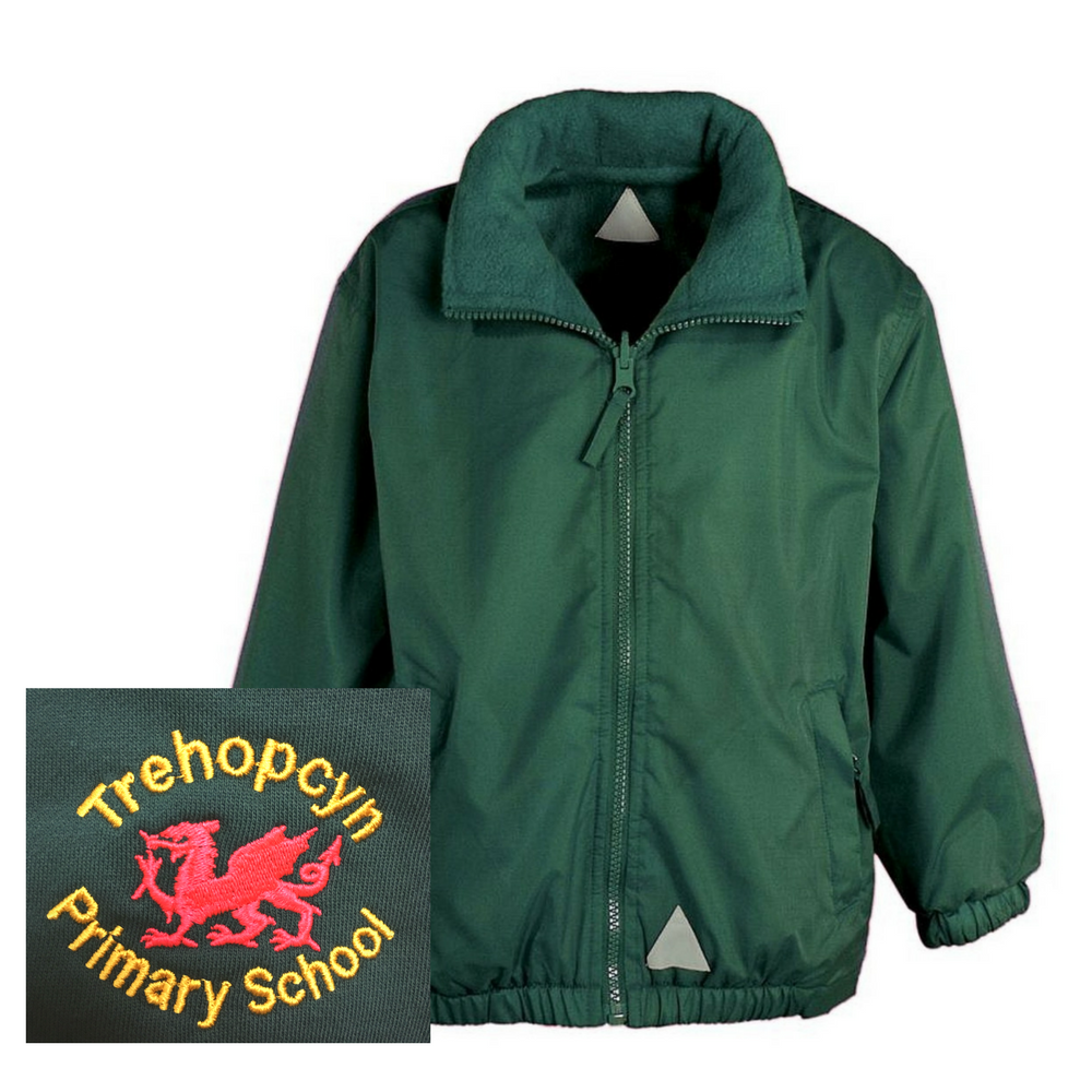 Trehopcyn Primary Bottle Green Mistral Jacket