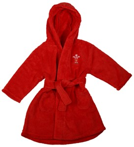 WRU Baby Dressing Gown