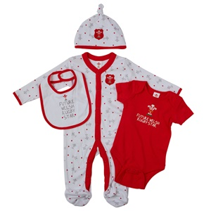 WRU Baby Red Starter Set 4 Pack