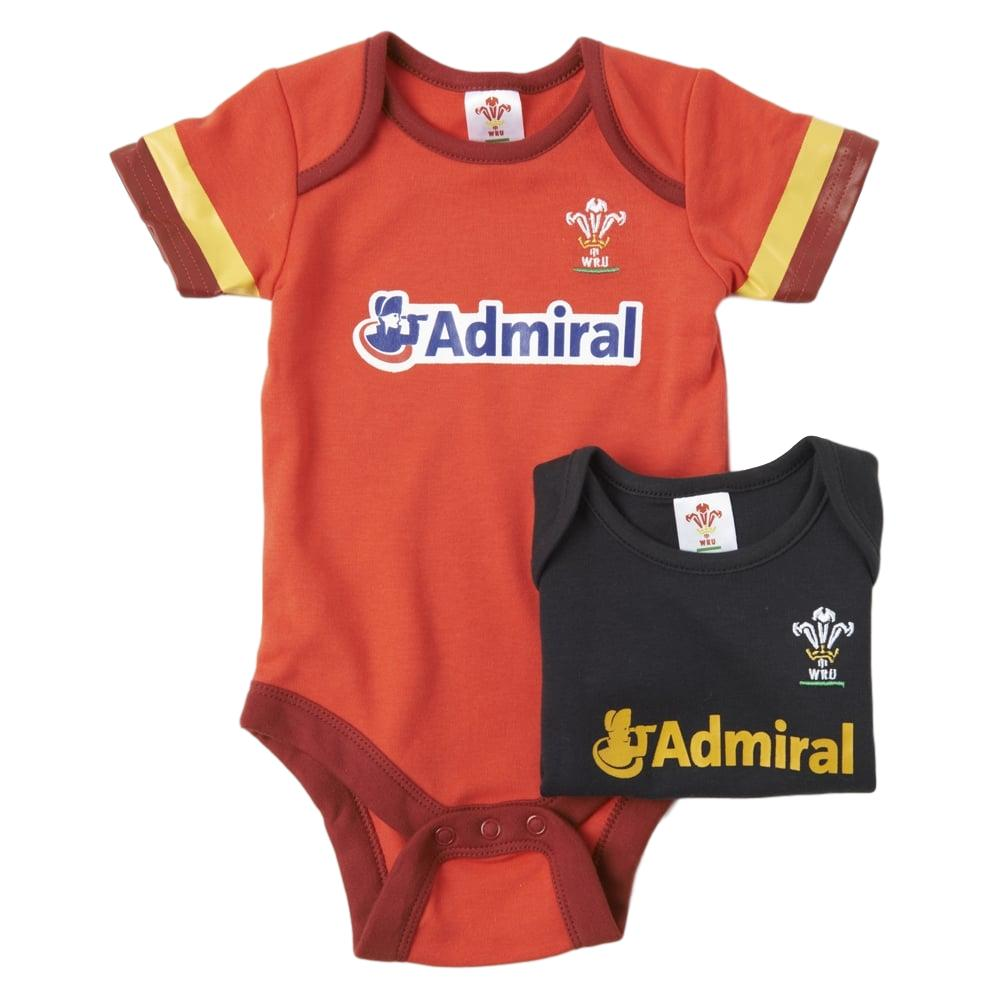 WRU Babykit Body suit- 2 Pack