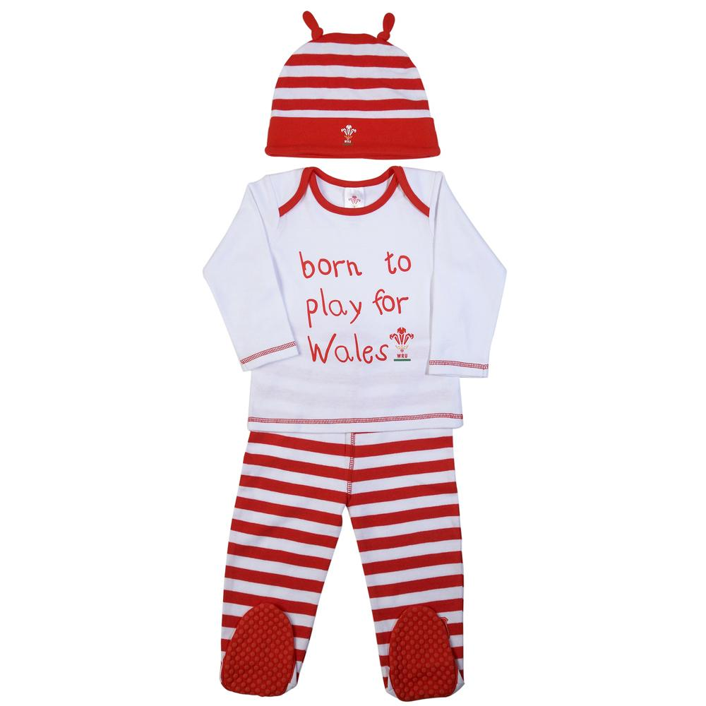 WRU Baby Born to Play for Wales