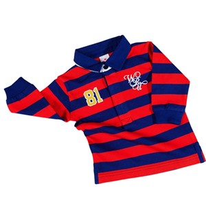 WRU Baby Long Sleeve Polo Shirt