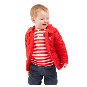 WRU Baby Quilted Jacket