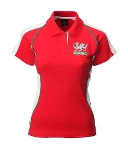 Ladies Fashion Cymru Rugby Shirt