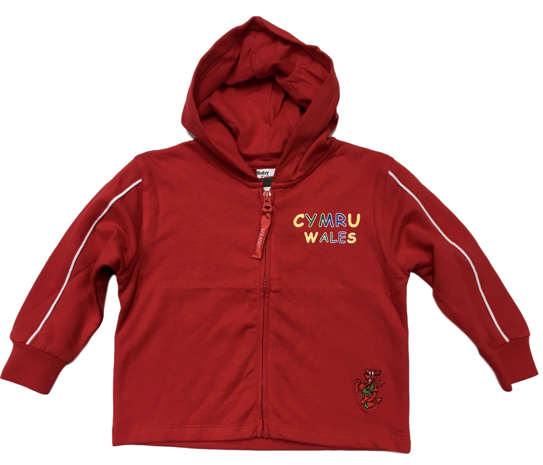 Baby Zip Welsh Hoody