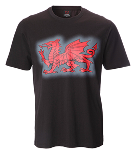 Gethyn Black Dragon T-Shirt