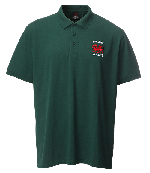 David Basic Green Polo