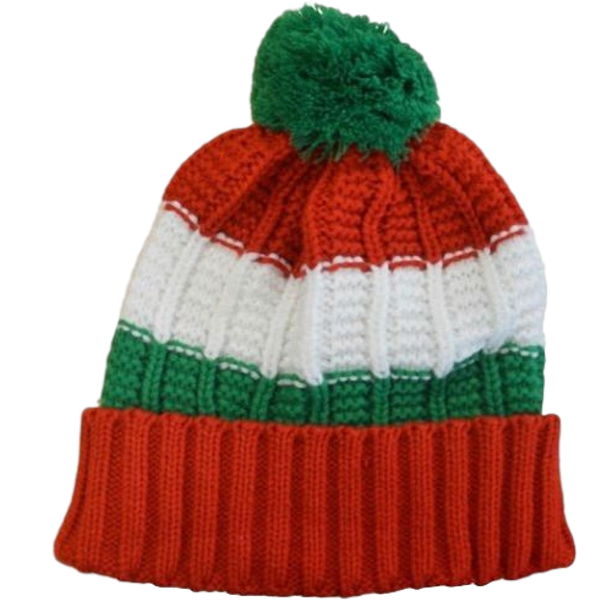 Welsh Knitted Bobble Hat