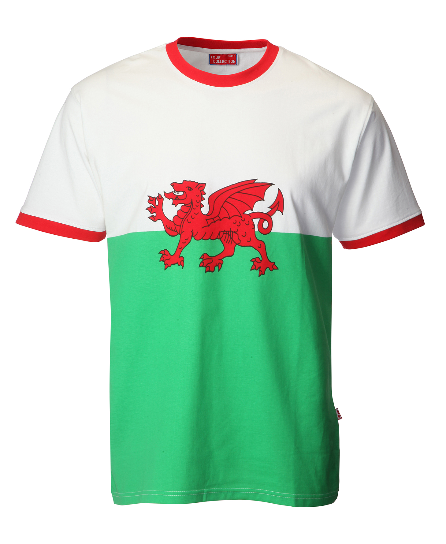 Kids Tour Collection Welsh Flag Anthem T-shirt