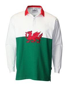 Welsh Flag Rugby Shirt