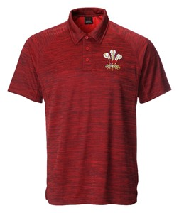 Lewis Antique Red Polo Shirt