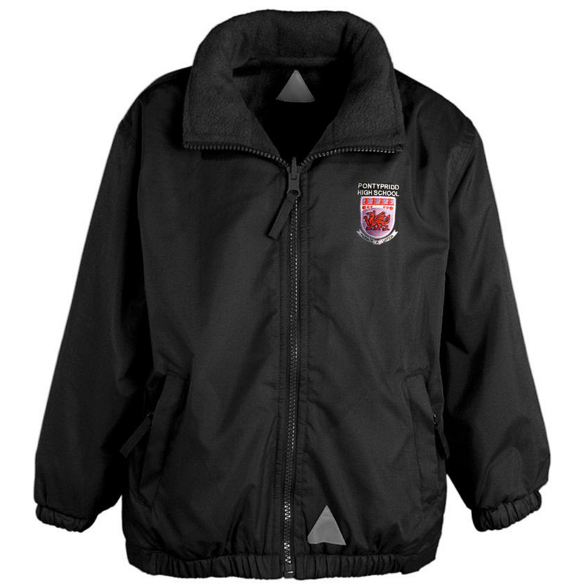 Pontypridd High School Black Mistral Jacket