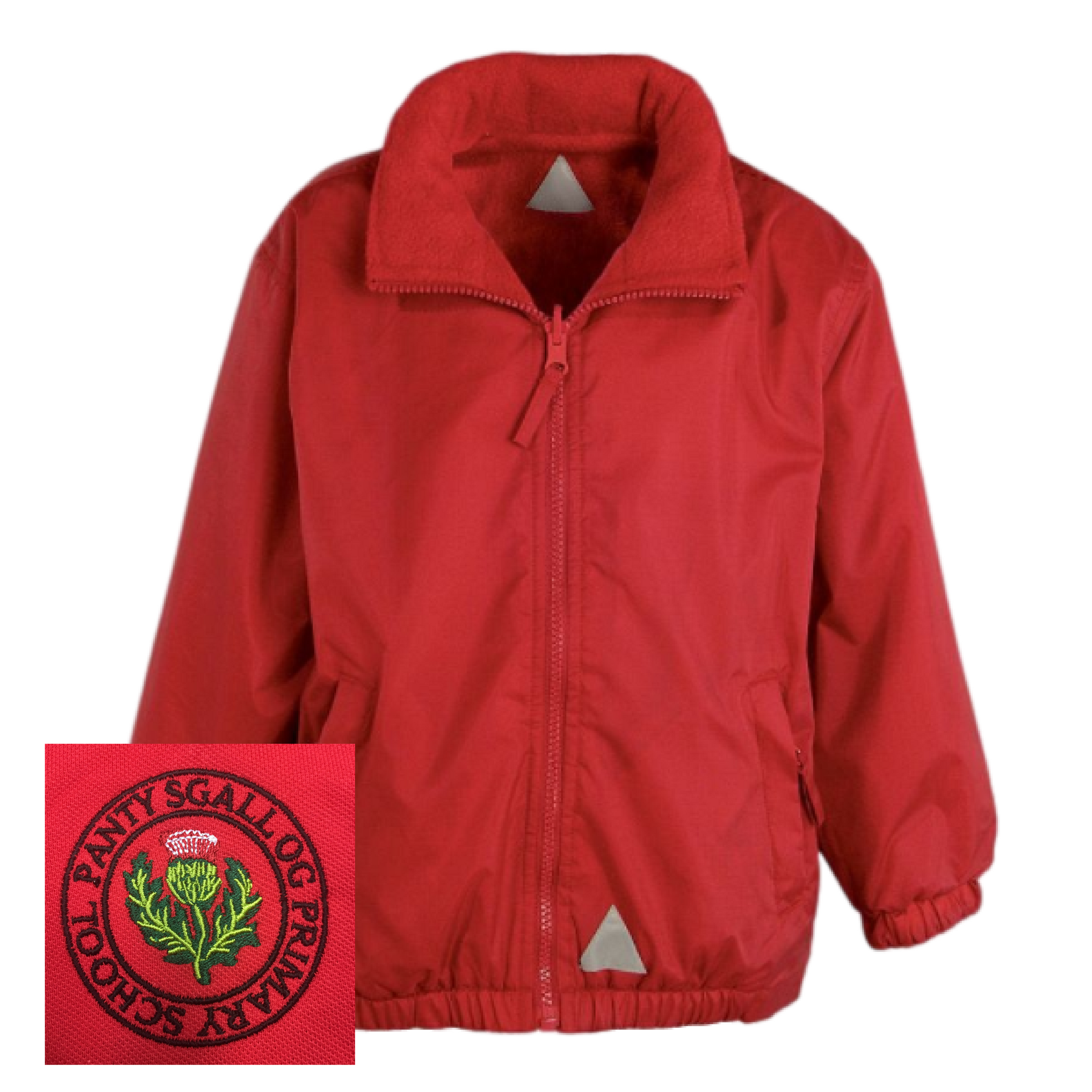 Pantysgallog Primary Red Mistral Jacket