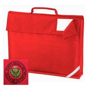 Pantysgallog Primary Red Book Bag