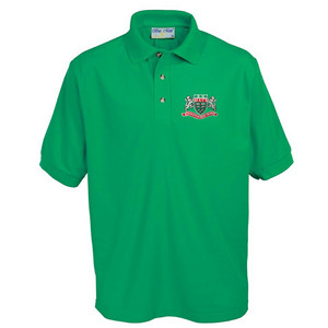 Mountain Ash Comprehensive School Emerald Green Polo Shirt