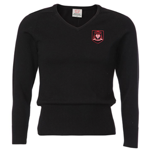 Cardinal Newman Girls V-Neck Jumper