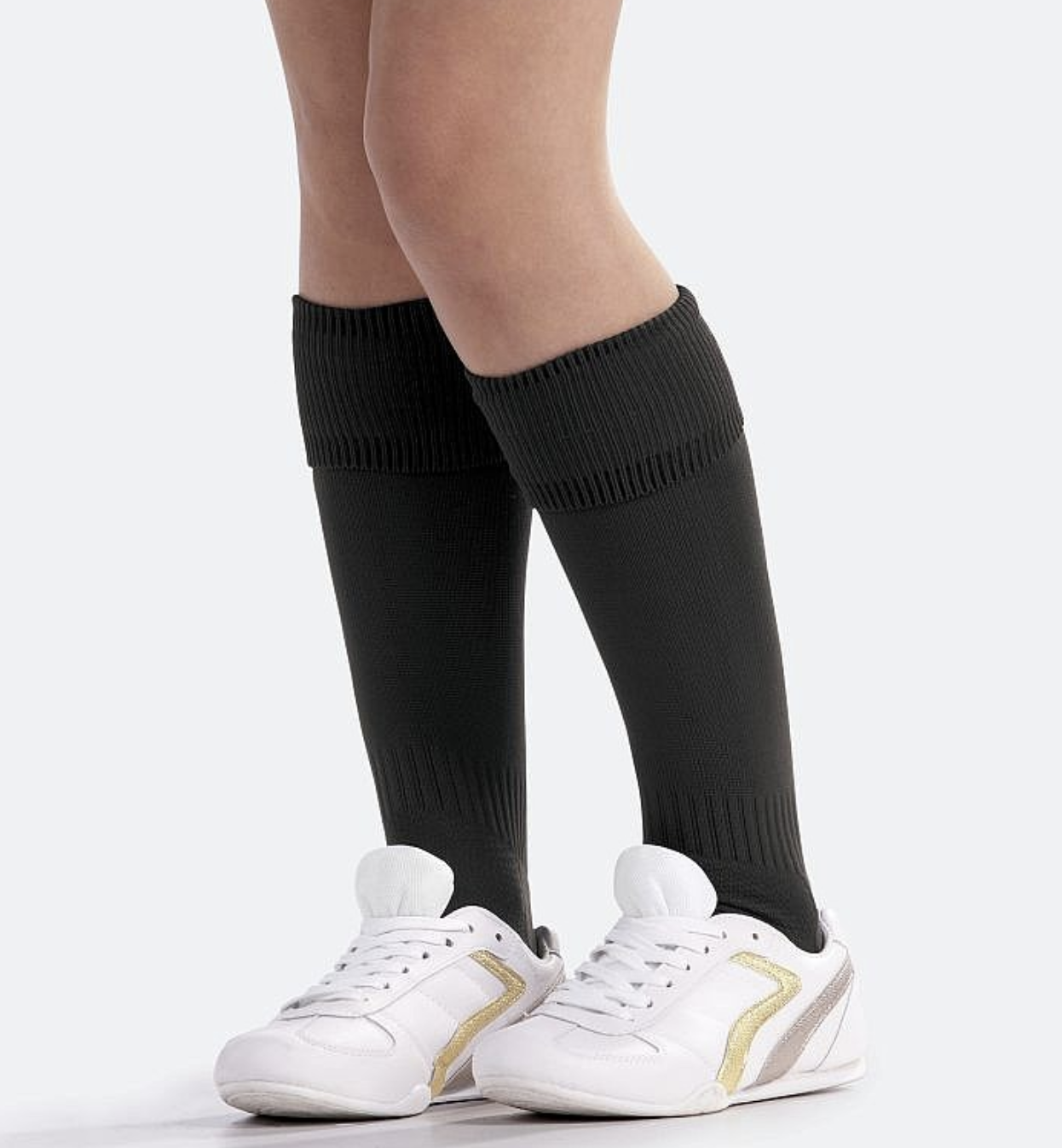 Plain Black Sports Socks