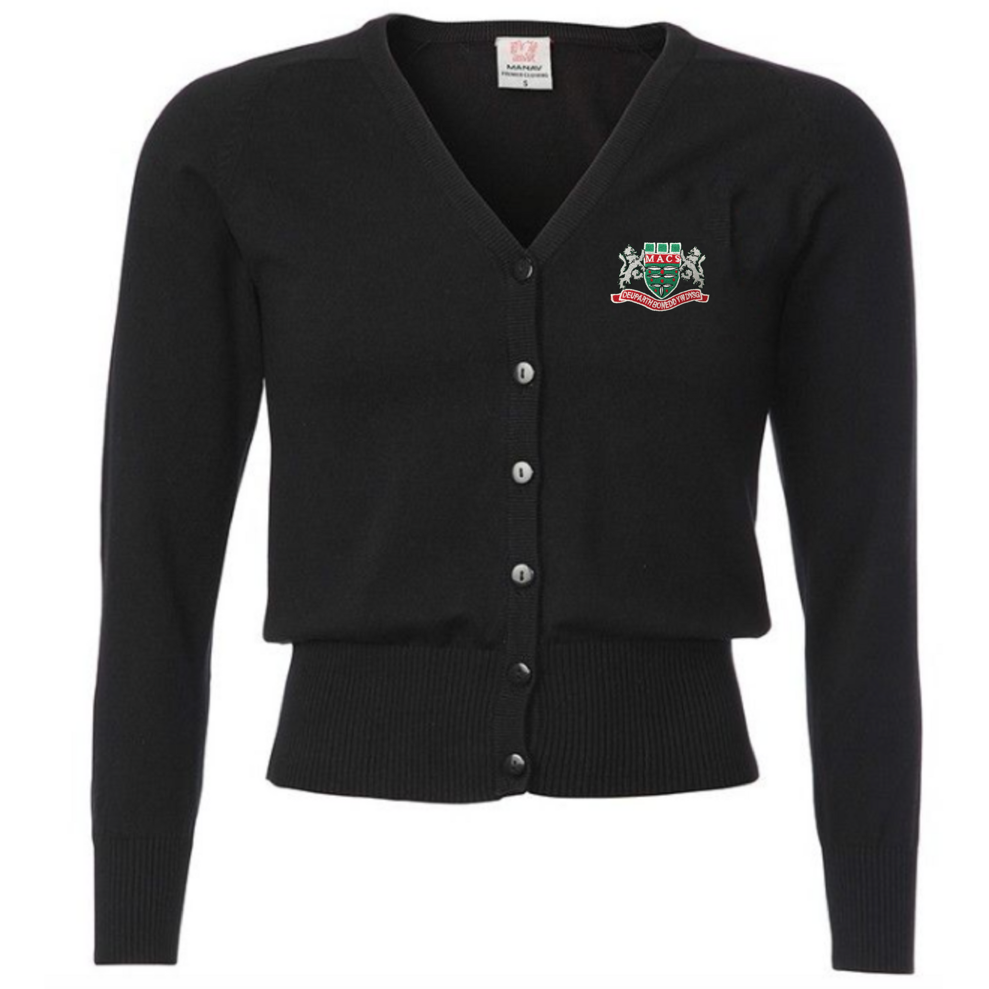 Mountain Ash Comprehensive School Black Cardigan