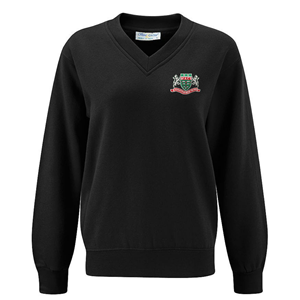 Mountain Ash Comprehensive School Unisex V Neck Sweatshirt