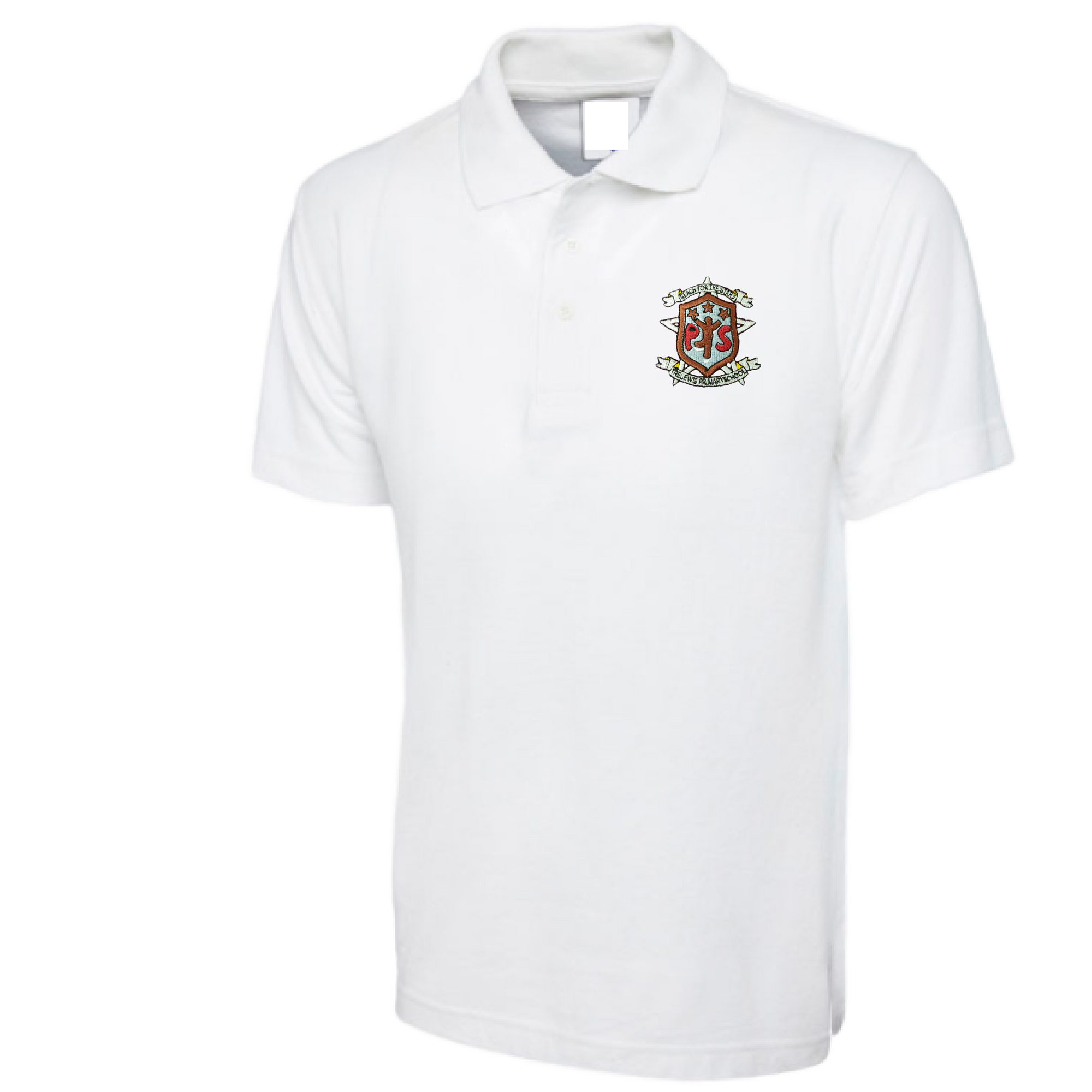 Trelewis Primary White Polo