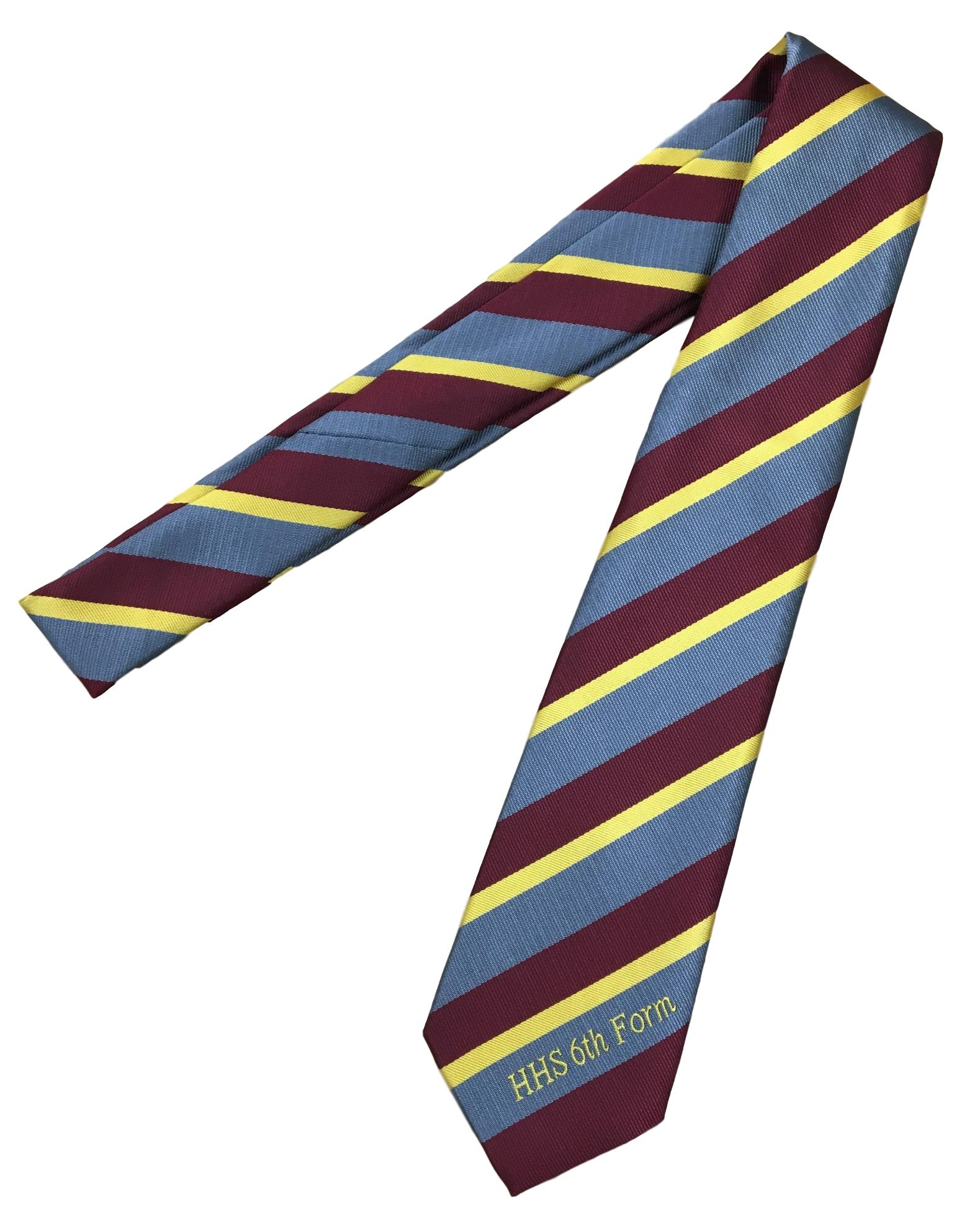 Hawthorn High School 6th Form Tie: Straight (Years 12-13)