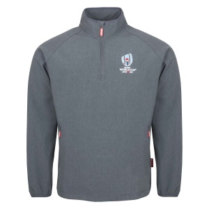 Rugby World Cup 2019 Qtr 1/4 Zip Mid Layer Grey