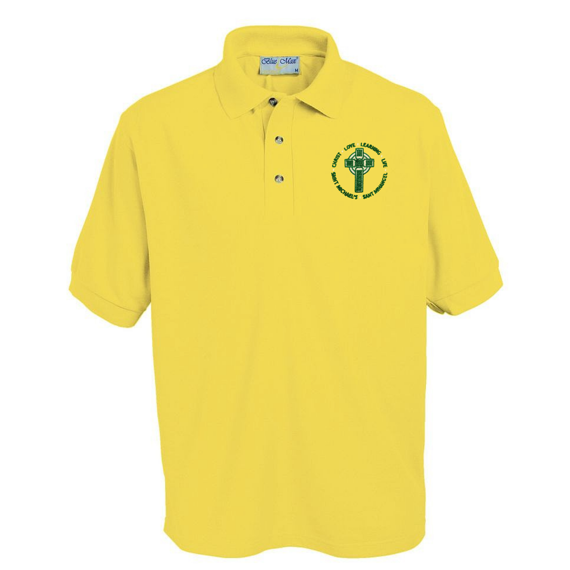 St Michael's Primary Yellow Polo