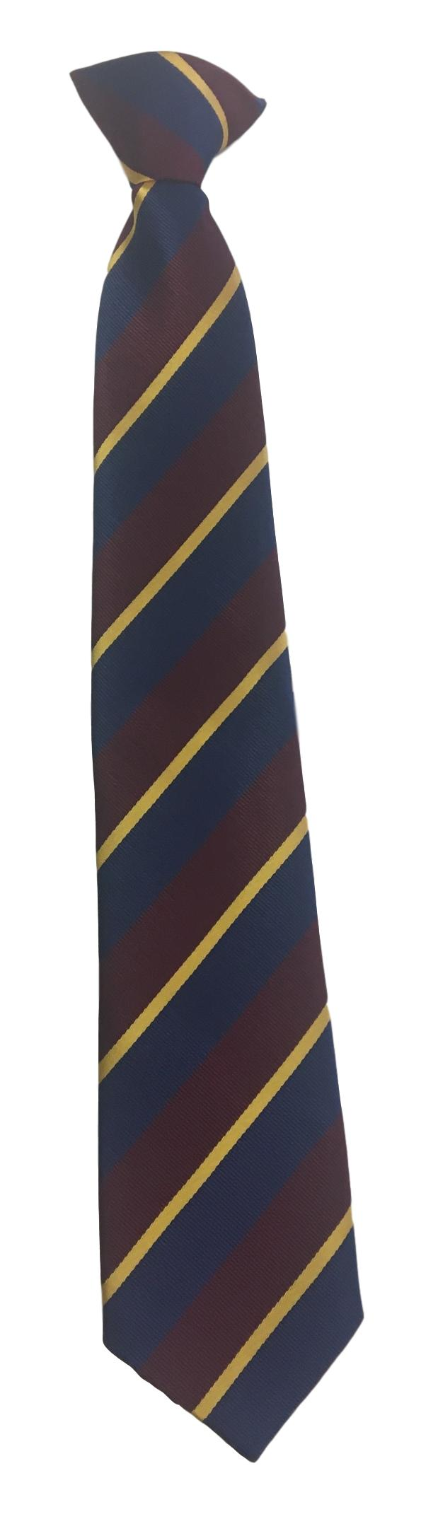 Hawthorn High School Navy Tie Clip On (Years 7-8)