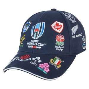 Rugby World Cup 2019 Nations Logo Cap