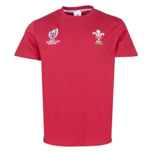 Rugby World Cup 2019 WALES Rugby Cotton T-Shirt
