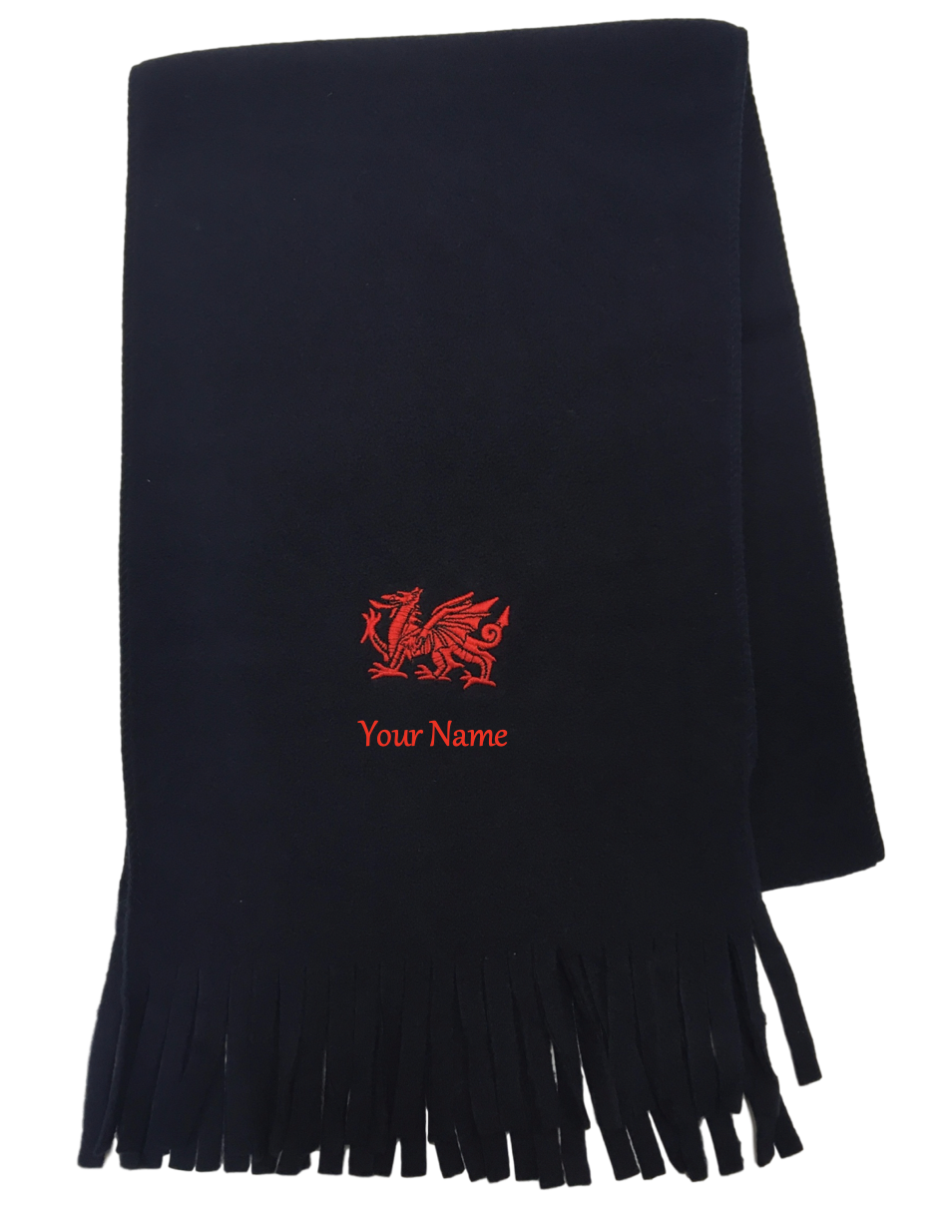Welsh Fleece Navy Scarf
